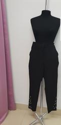 Новые брюки фирмы Zara,  новые чёрного цвета