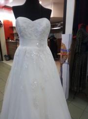 Шикарное Свадебное Платье из Англии срочно дешево