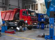 Ремонт подвески грузового автотранспорта.