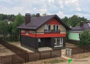 Каркасный Дом под ключ 8.5х9 проект Эдмонтон